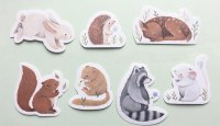 Nina Stajner Illustrated Stickers