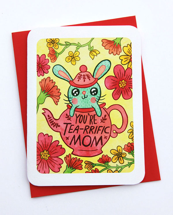 Tea-Riffic Mother's Day Card from My Zoetrope