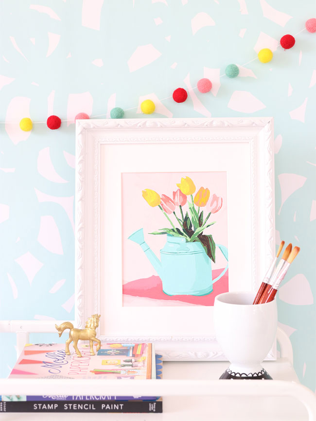 Free Printable Paint- by Number | Damask Love