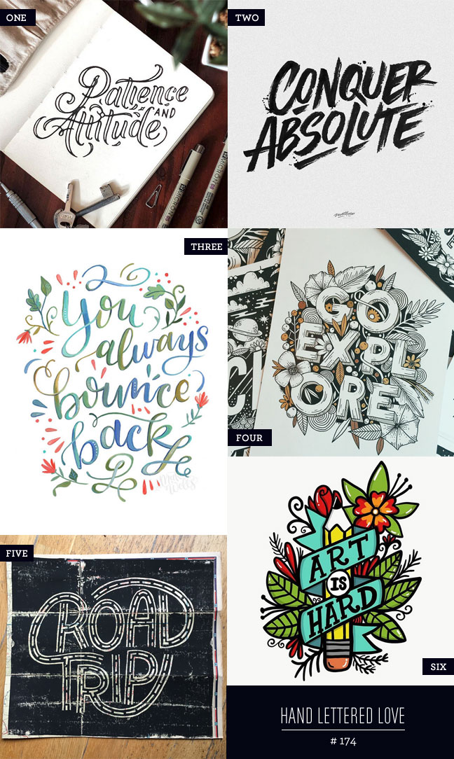 Hand Lettered Love #174