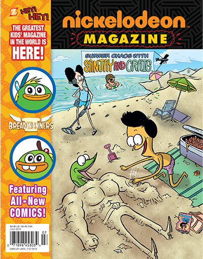 NICKELODEON MAGAZINE HITS THE NEWSSTANDS TODAY!