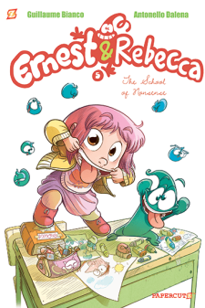 Ernest & Rebbeca School of Nonsense cover