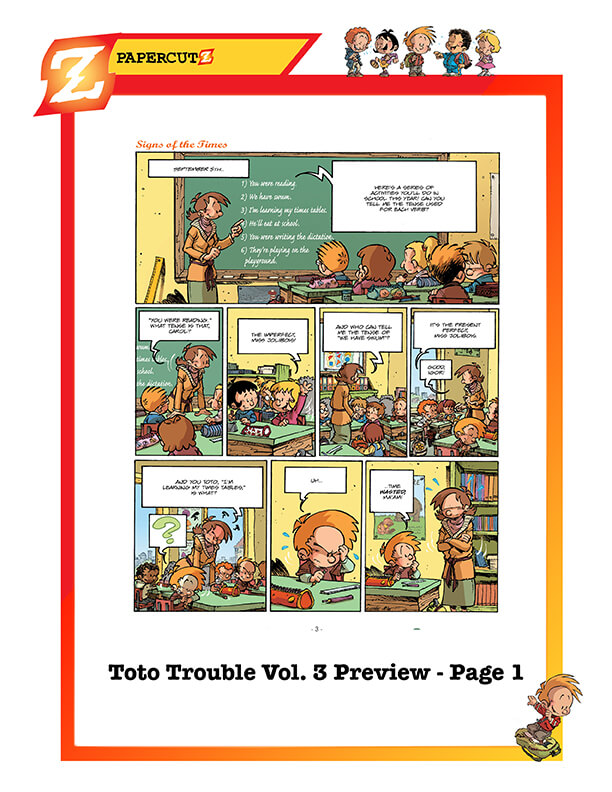 TOTO TROUBLE_Vol. 3_page1