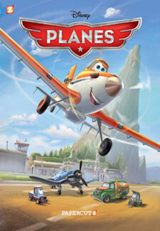 Cover to Disney Graphic Novels: Planes #1