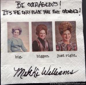 Mikki Williams - Paper Napkin Wisdom