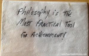 Patrick Gentempo - Paper Napkin Wisdom
