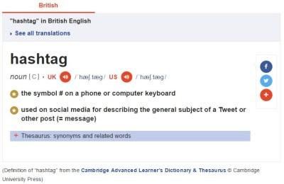 What is a hashtag?   S J Piatek