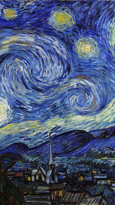 aj42-vincent-van-gogh-starry-night-classic-painting-art-illust - Papers.co