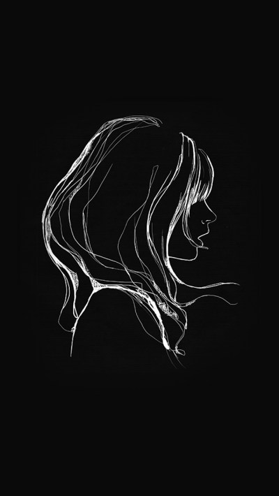az88-drawing-simple-minimal-girl-illustration-art-dark-wallpaper