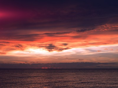 nf94-sunset-lake-sea-water-sky-cloud-nature-flare-blue-wallpaper