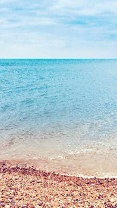 PAPERS.co | iPhone wallpaper | ng30-sea-nature-beach-blue-sky-rock-happy