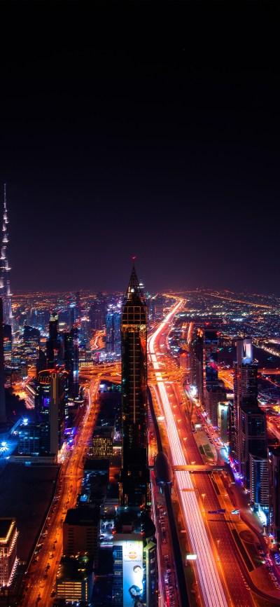 iPhonexpapers.com-Apple-iPhone-wallpaper-nv99-city-night-light-car-dark-nature