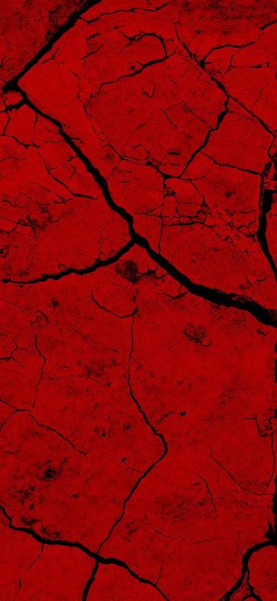 iPhonexpapers.com-Apple-iPhone-wallpaper-vz80-brick-crack-dessert-pattern-background-red