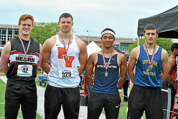Mercury-Area Boys Track and Field Selections