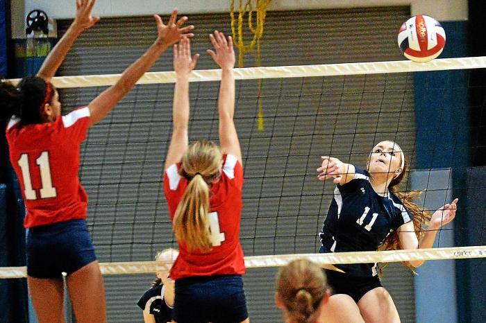 PHOTO GALLERY: Plymouth Whitemarsh at North Penn Girls Volleyball