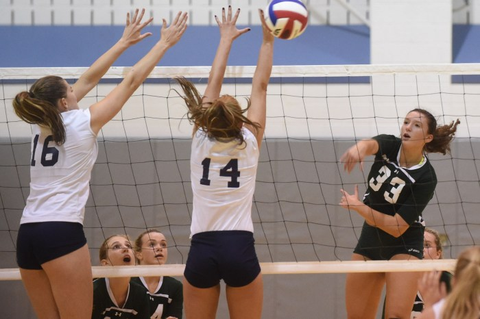 PHOTO GALLERY: Unionville and Bishop Shanahan Girls Volleyball