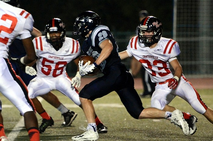 Council Rock North football proves heart in loss to Coatesville (GALLERY)
