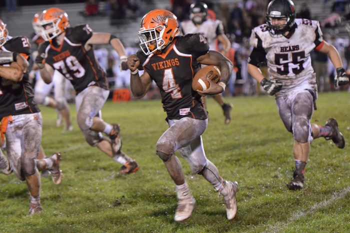 PV locks up Liberty title, tops Norristown 43-0