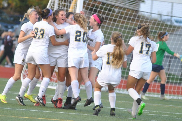 Down but not out: Spring-Ford's four second-half goals lift them past PJP, into PAC Final
