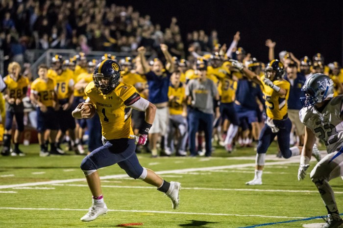 Unionville rallies to knock off Great Valley, Clark wins 100th