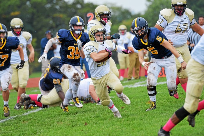 Norristown, Upper Merion focused on finishing strong in Thanksgiving game
