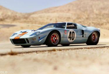 Vuelve el Ford GT40, la pesadilla de Ferrari. En la imagen, un Ford GT40 de 1968.