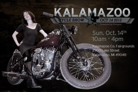 39th Annual Kalamazoo Motorcycle Show October 14, 2012