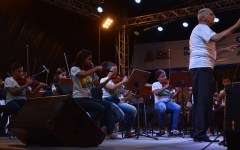 Alunos do Ação Social Pela Música se apresentam no Alto do Mateus e no Parque da Lagoa
