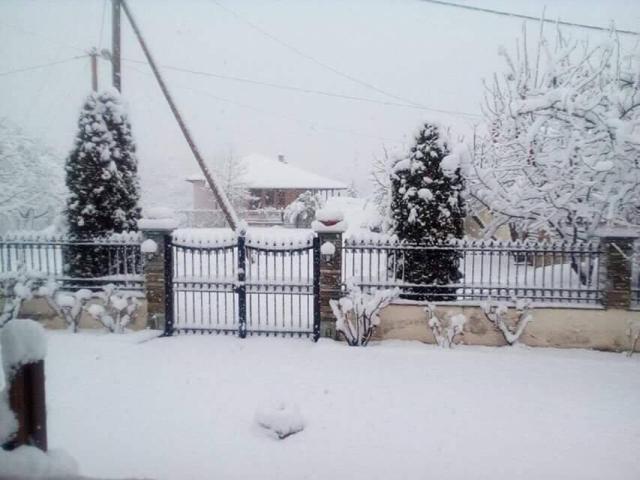 Το λευκό σκηνικό γύρω από τη Θεσσαλονίκη!