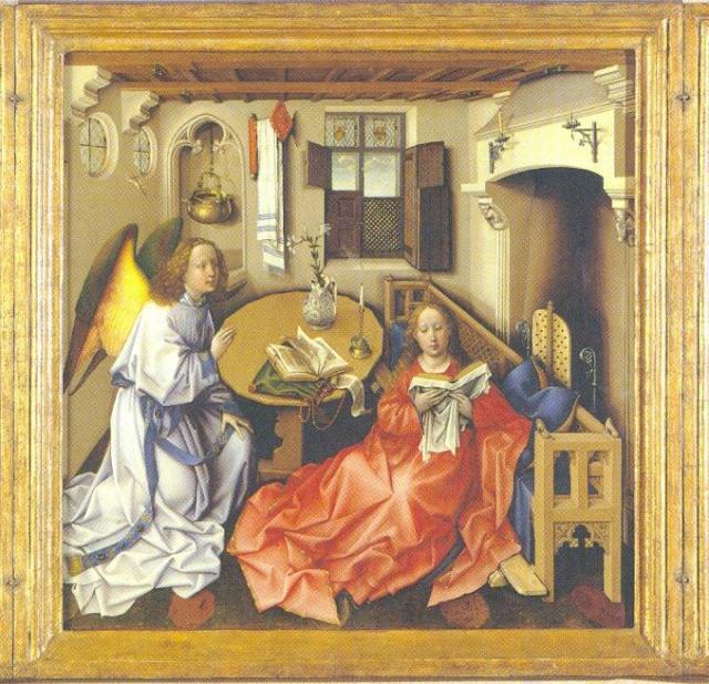 Ρομπέν Καμπέν. 1425. Μητροπολιτικό Μουσείο Νέας Υόρκης.