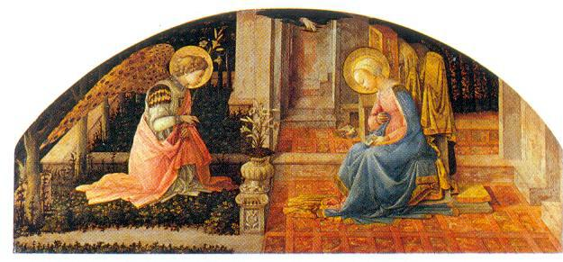 Φιλίππο Λίπι 1404. Εθνική Πινακοθήκη Λονδίνο.