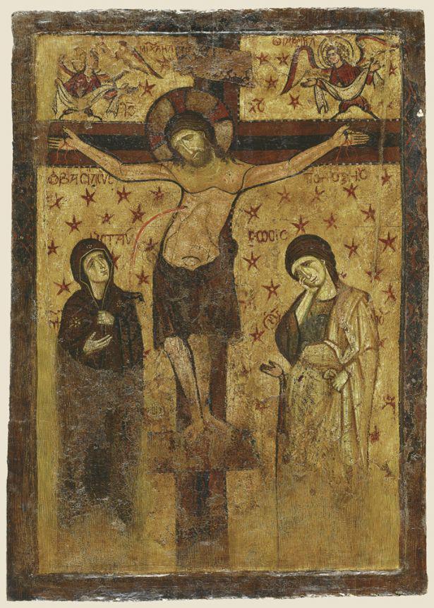 Φορητή εικόνα του 9ου-13ου αι. Βυζαντινό Μουσείο Αθηνών.