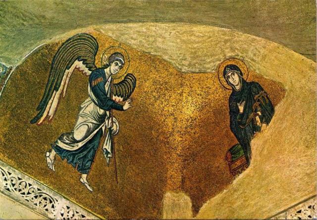 Ψηφιδωτό Μονής Δαφνίου.
