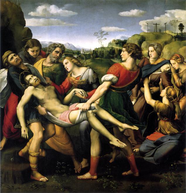 Αποκαθήλωση. Ραφαήλ 1507.