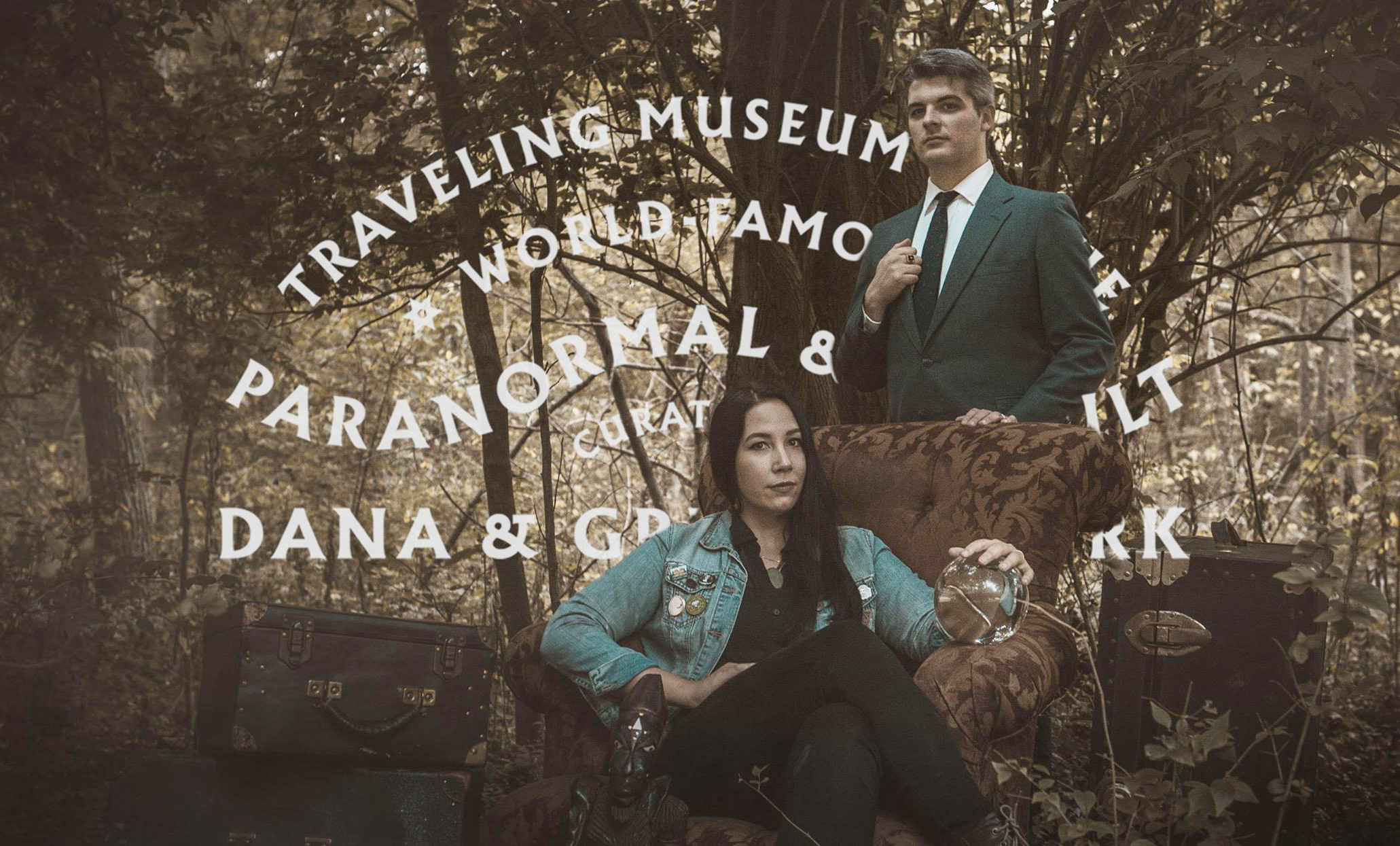 Dana and Greg Newkirk are internationally-recognized authorities on paranormal investigation, witchcraft, and haunted artifacts.