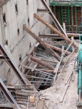 Destruction des IPN et creusement