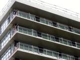 Peinture des dessous des balcons, bâtiment A