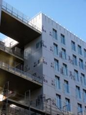 Arrière du bâtiment B, Parc 17