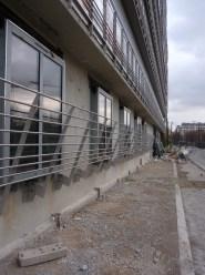 Garde-corps du rez-de-chaussée, bâtiment B