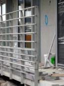 Gardes-corps des balcons du rez-de-chaussée, bâtiment A