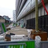 Rue Bernard Buffet en reconstruction