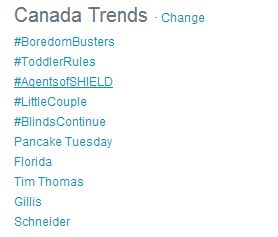 Boredom Busters Trending #1 in Canada