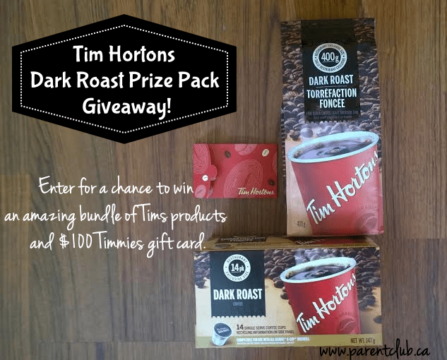 Tim Hortons Dark Roast Prize Pack Giveaway!