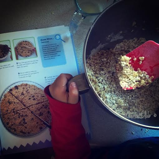 Homemade Granola Bars, Cooking with Kids