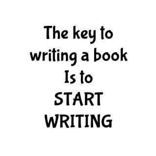 Start Writing, motivation, inspiration, writing