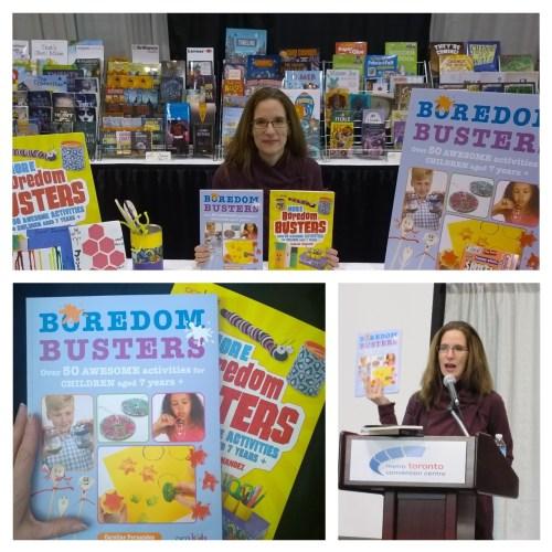 Parent Club w linky - book signing, Caroline Fernandez