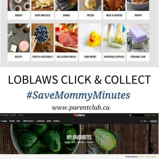 Loblaws Click & Collect #SaveMommyMinutes