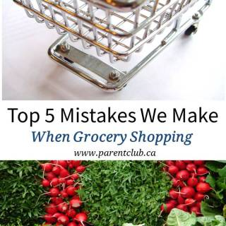 Top 5 Mistakes We Make When Grocery Shopping