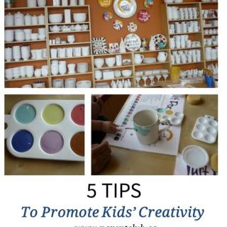 5 Tips To Promote Kids' Creativity
