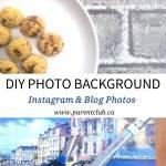 DIY Photo Background